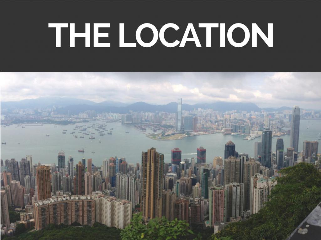 Asiatischer Expat Hong Kong