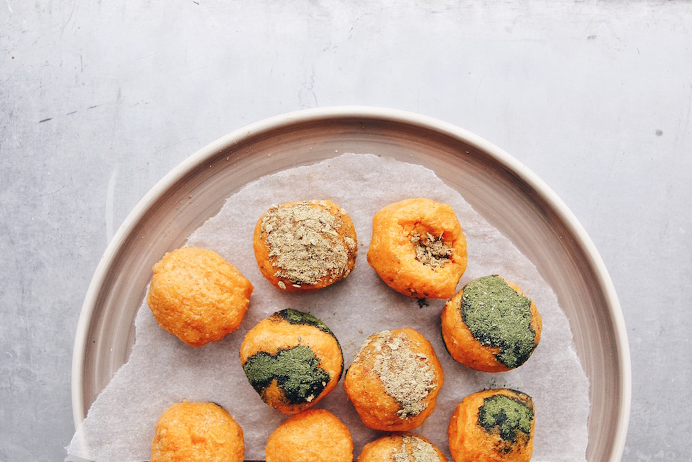 Sweet Potato Bliss Balls
