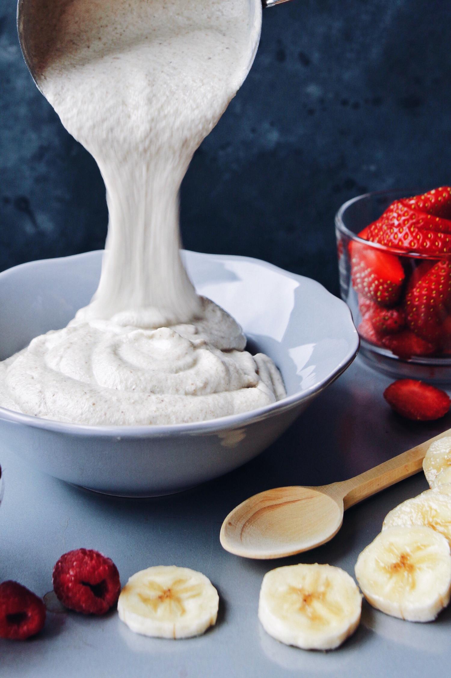 Raw Cashew Buckwheat Porridge