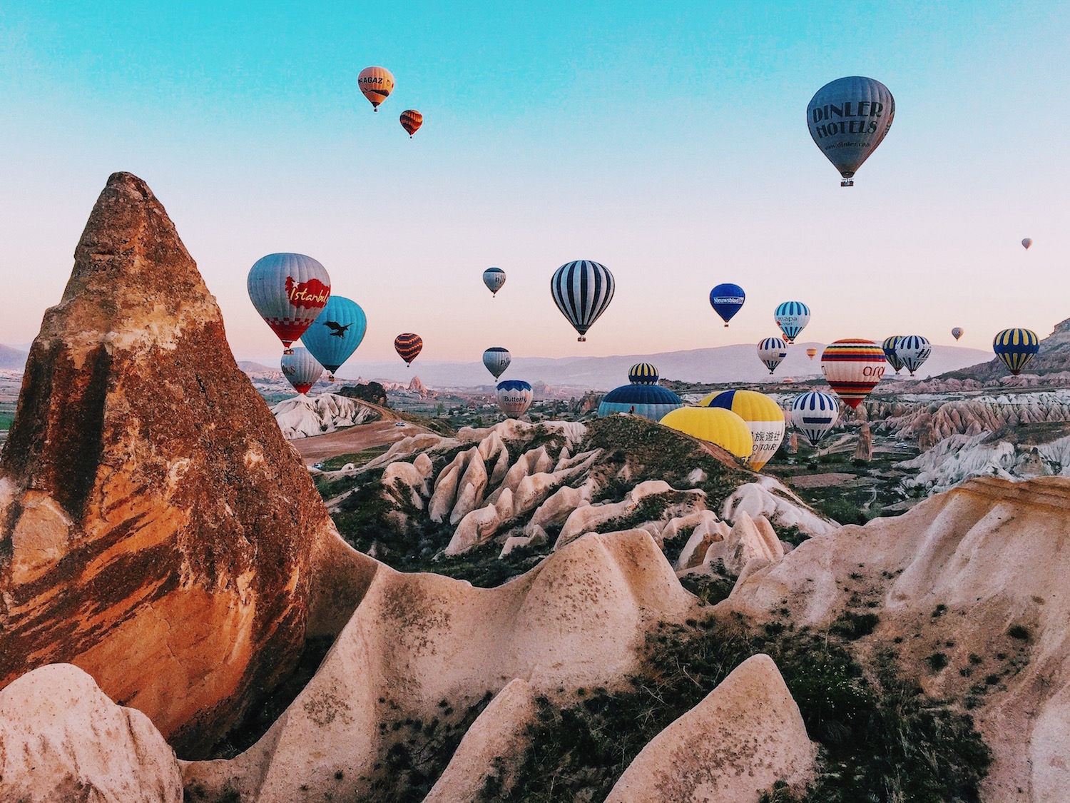 The best photo locations in cappadocia for Best pictures