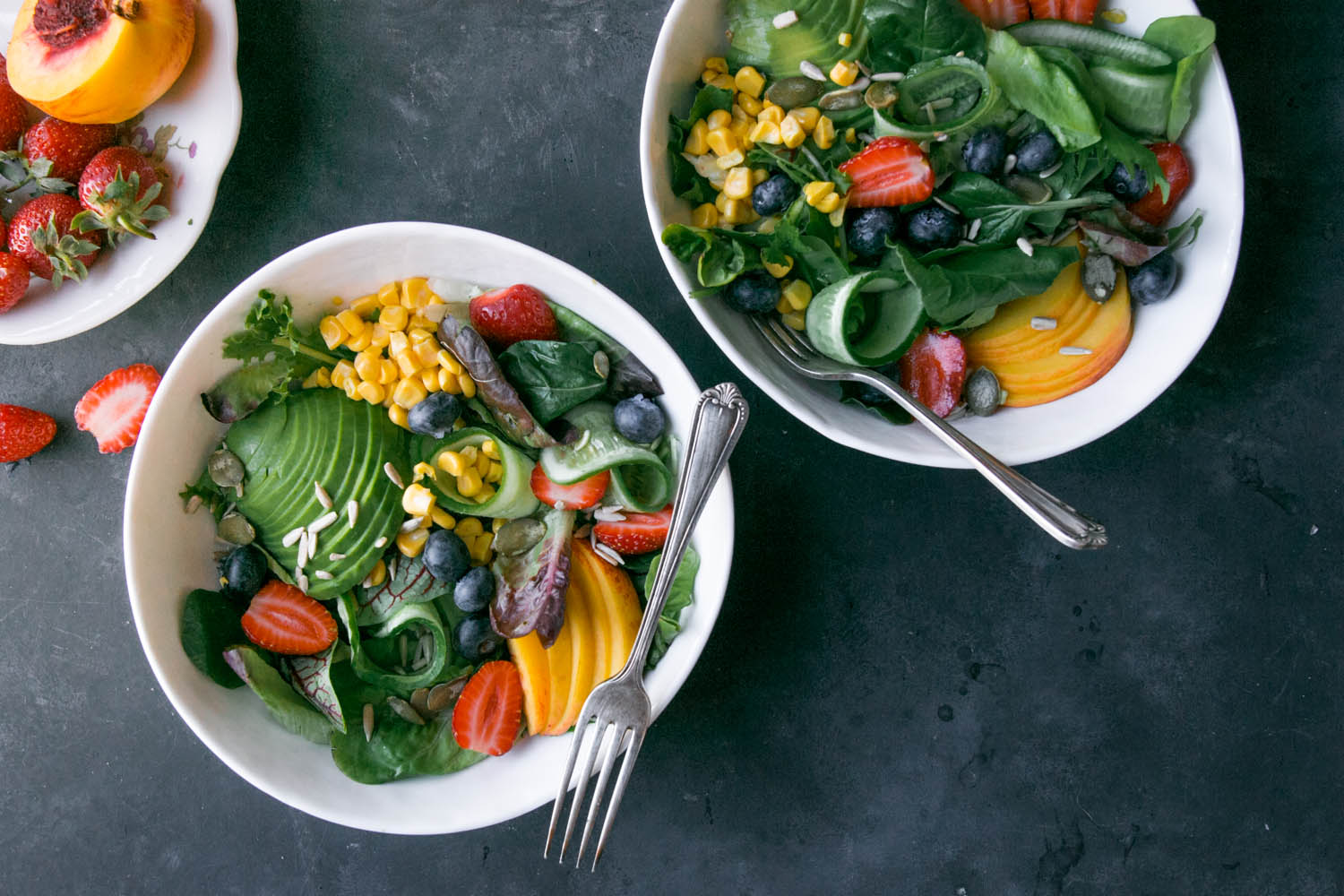 LATE SUMMER SALAD (or what I eat first thing after a holiday) | black ...