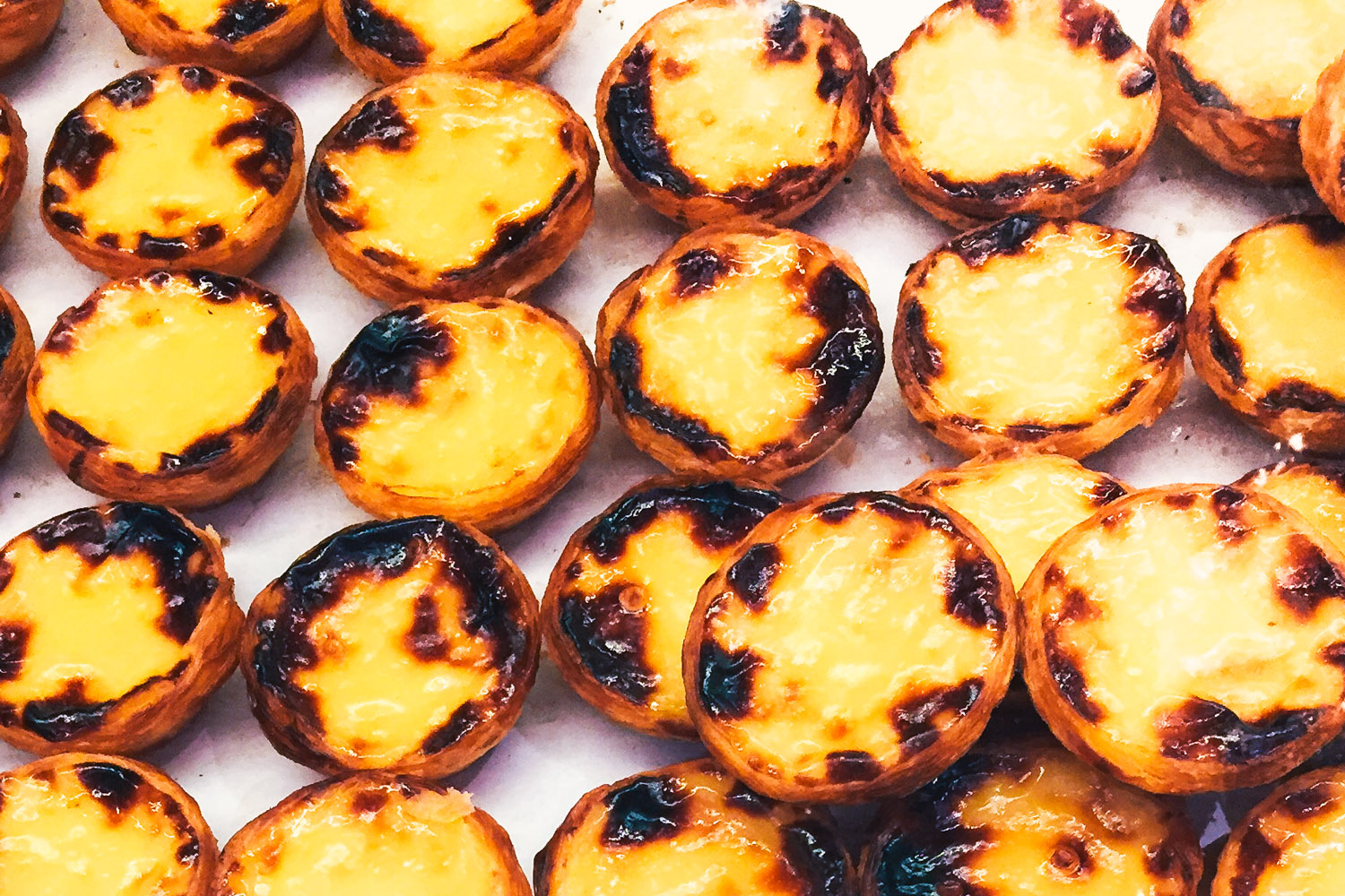 Lisbon's Best Sweet Treats - Pastel de Nata & More - black.white.vivid