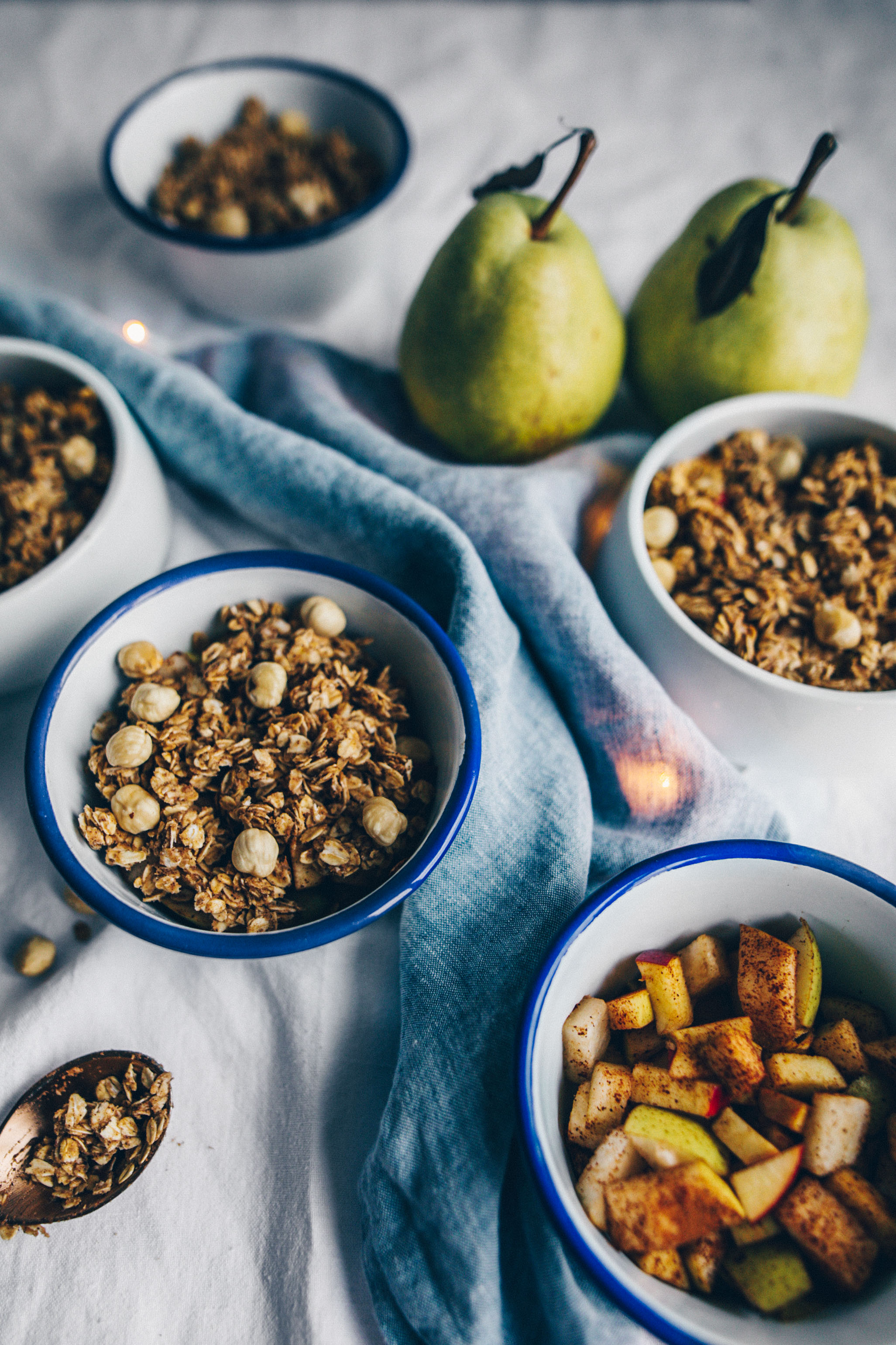 Vegan Chai Spice Pear Crumble by black.white.vivid.