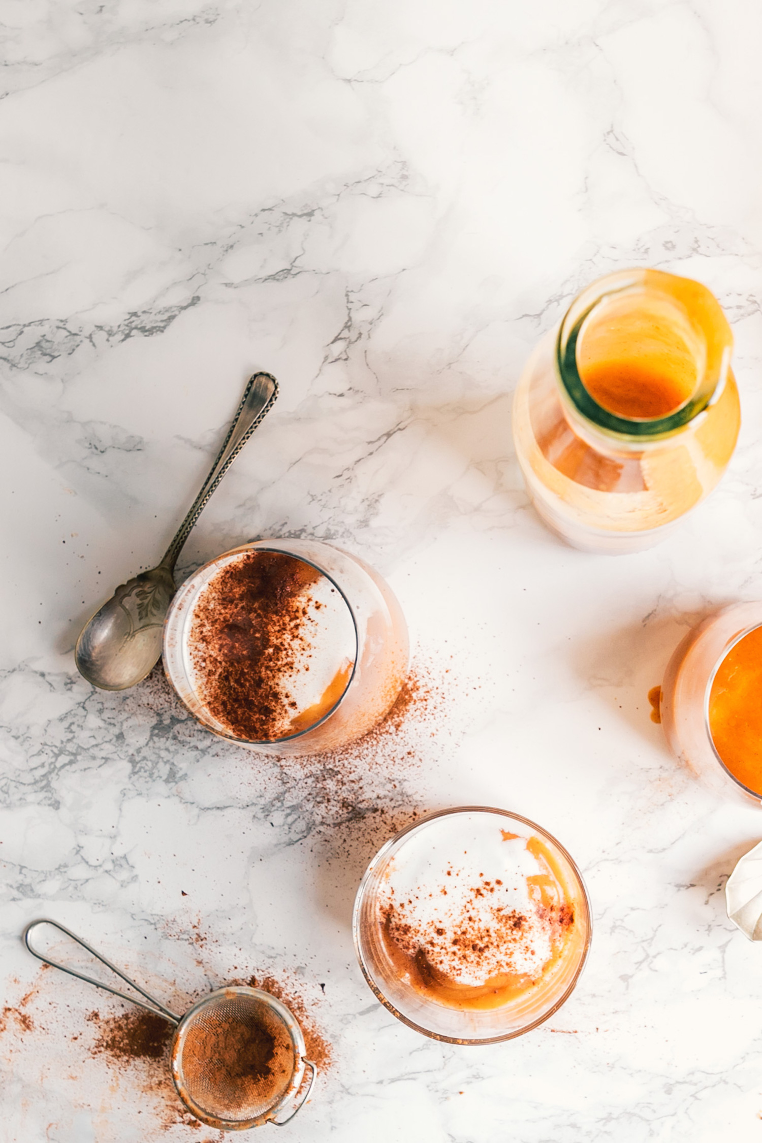Spiced Persimmon & Roasted Apple Smoothie by black.white.vivid