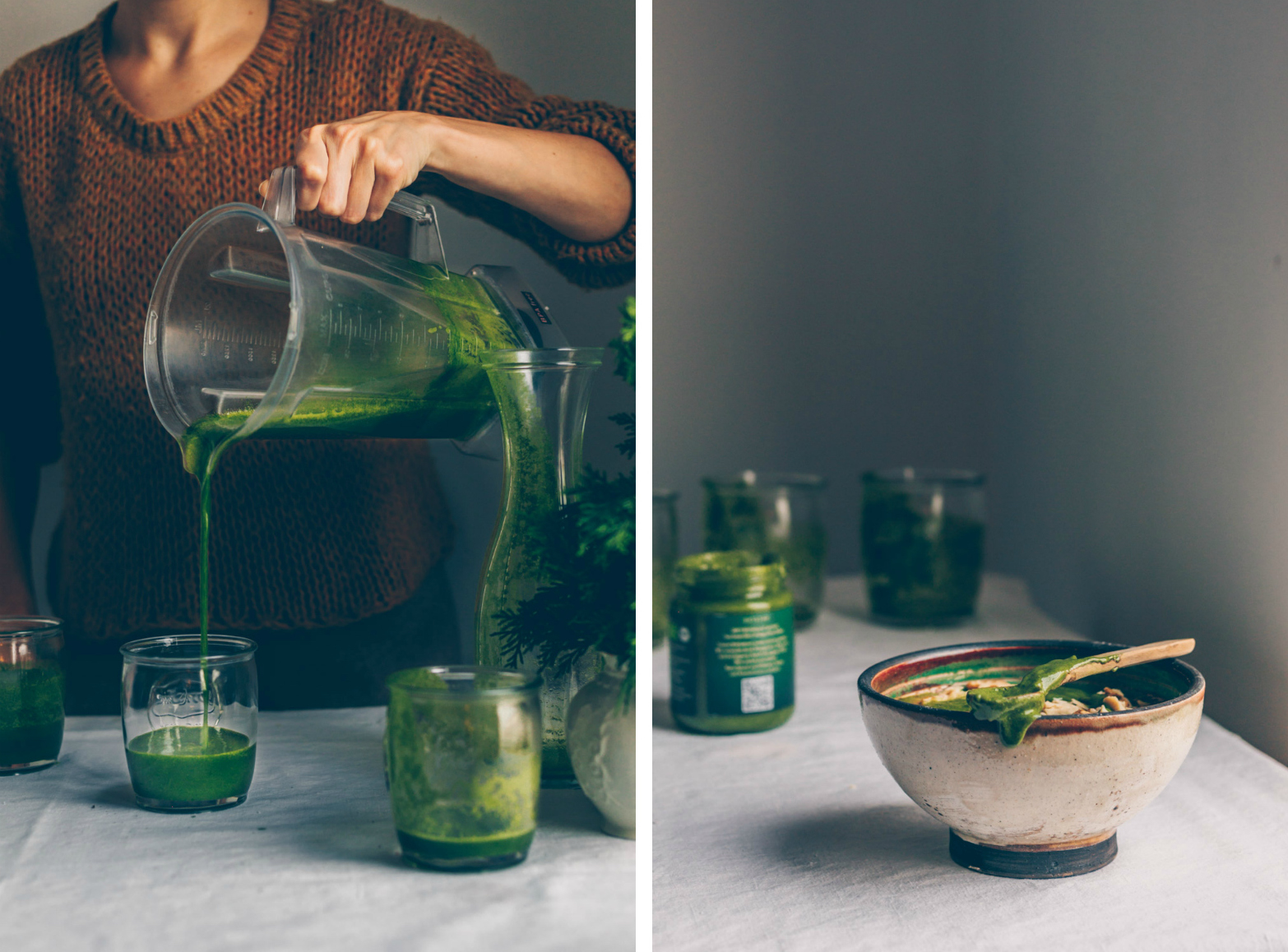 Winter Detox Green Smoothie by black.white.vivid.
