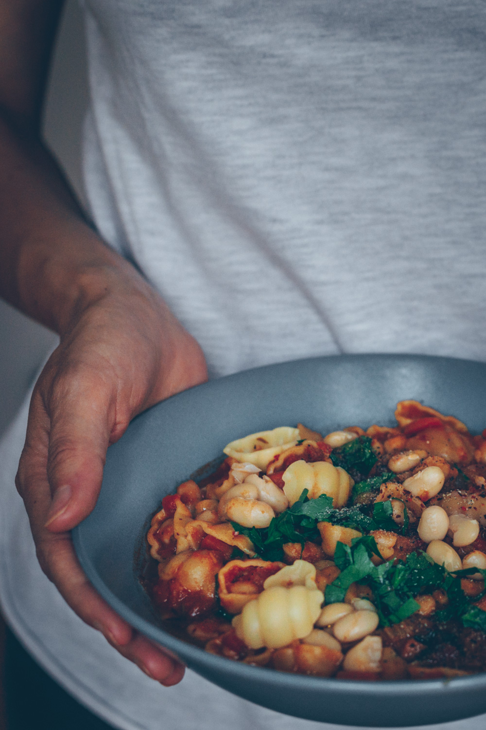 Pasta and Bean Stew (Pasta e Fagioli) - A Vegan Recipe by Kati of black.white.vivid.