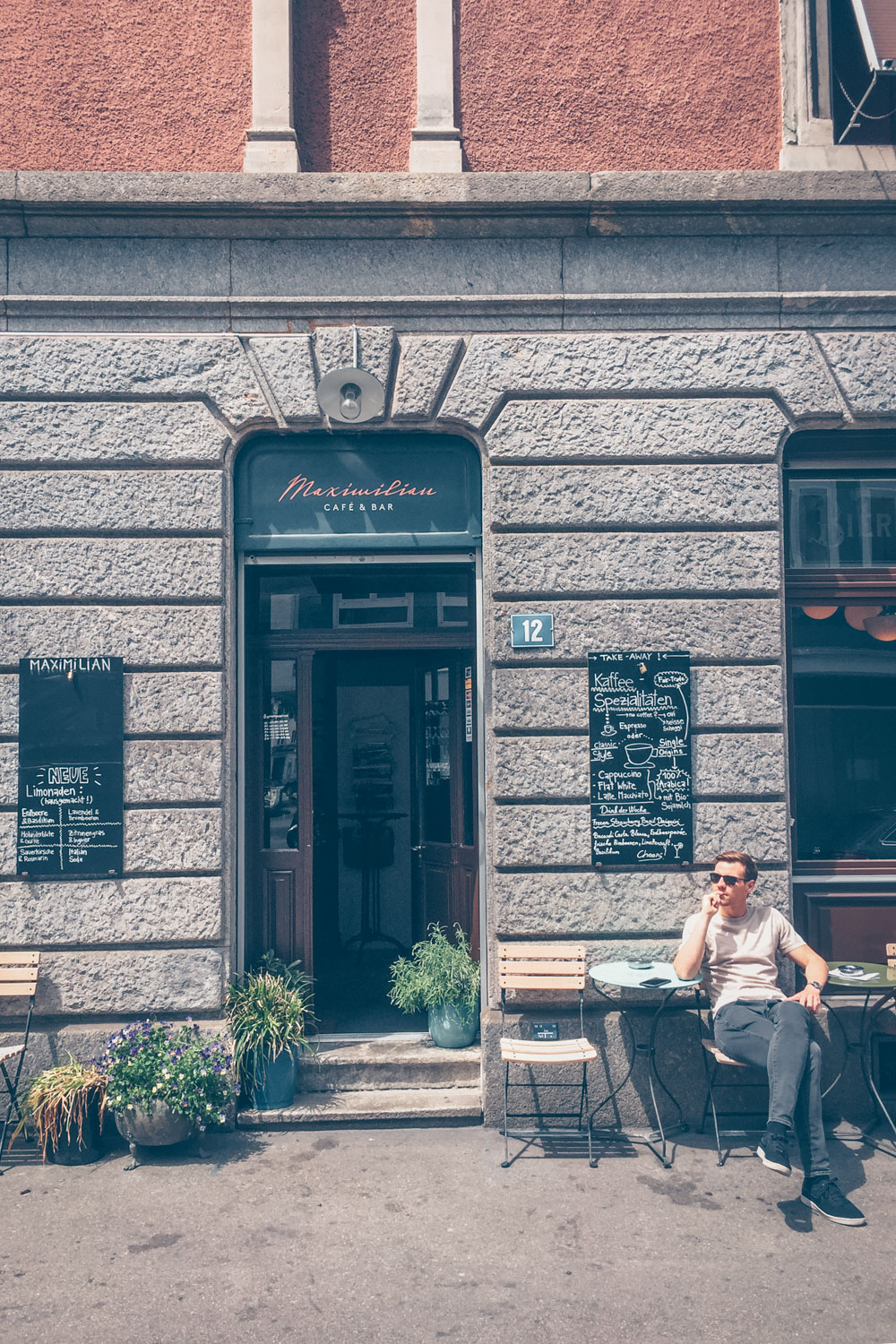 A Quick Food Guide to Zürich, Switzerland by Kati black.white.vivid. - Maximilian Cafe & Bar