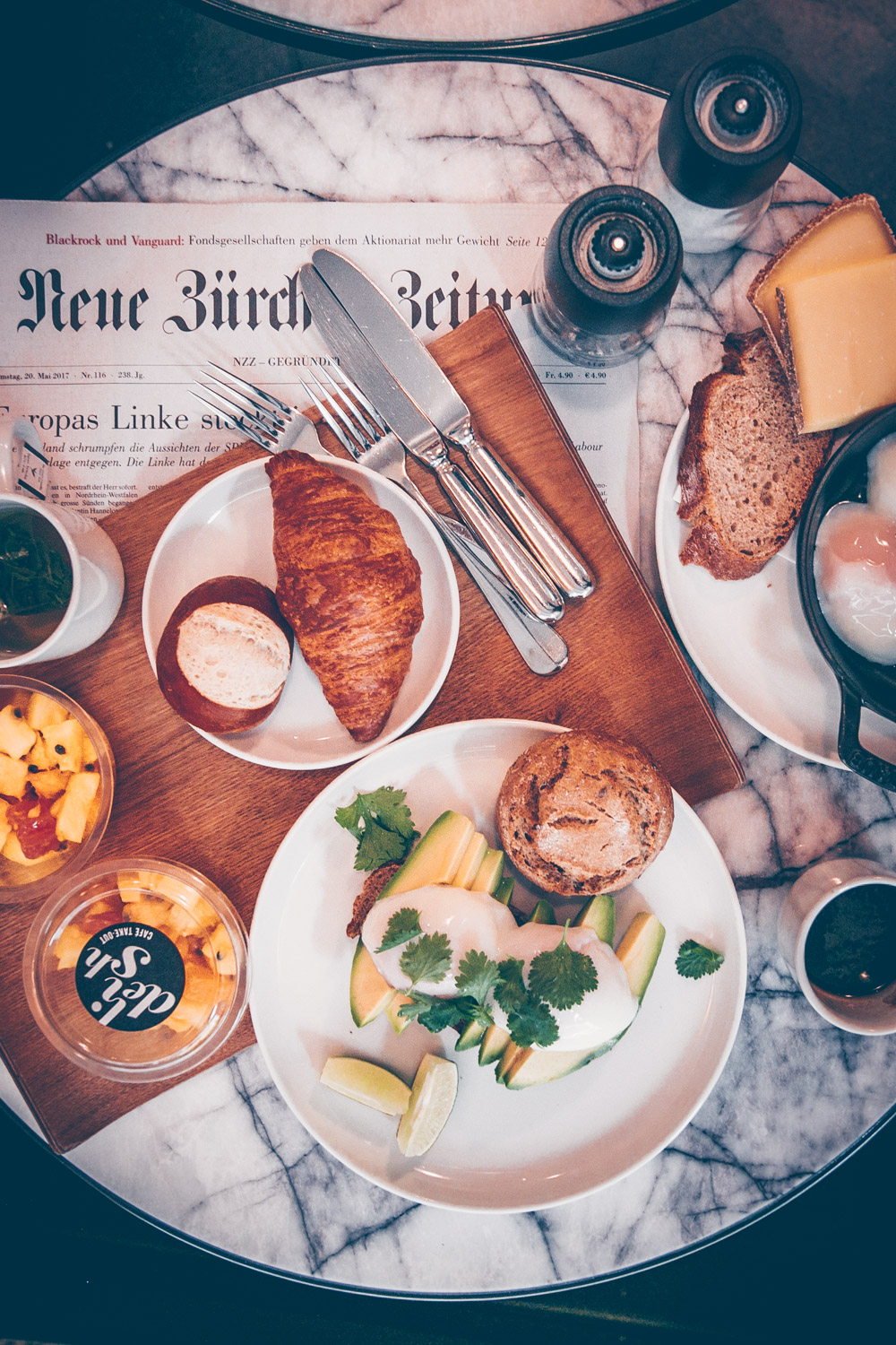 A Quick Food Guide to Zürich, Switzerland by Kati black.white.vivid. - delish Cafe at Marktgasse Hotel