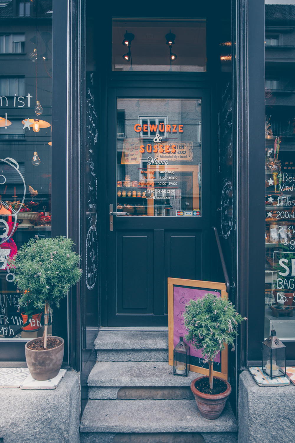 A Quick Food Guide to Zürich, Switzerland by Kati black.white.vivid. - Spice Shop Nanna Bunte Küche