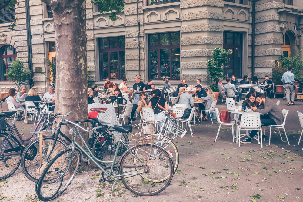 A Quick Food Guide to Zürich, Switzerland by Kati black.white.vivid. - Cafe and Restaurant BANK
