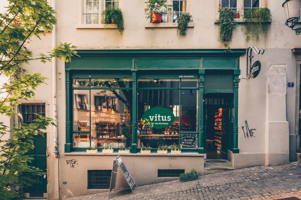 A Quick Food Guide to Zürich, Switzerland by Kati black.white.vivid. - Organic shop Vitus