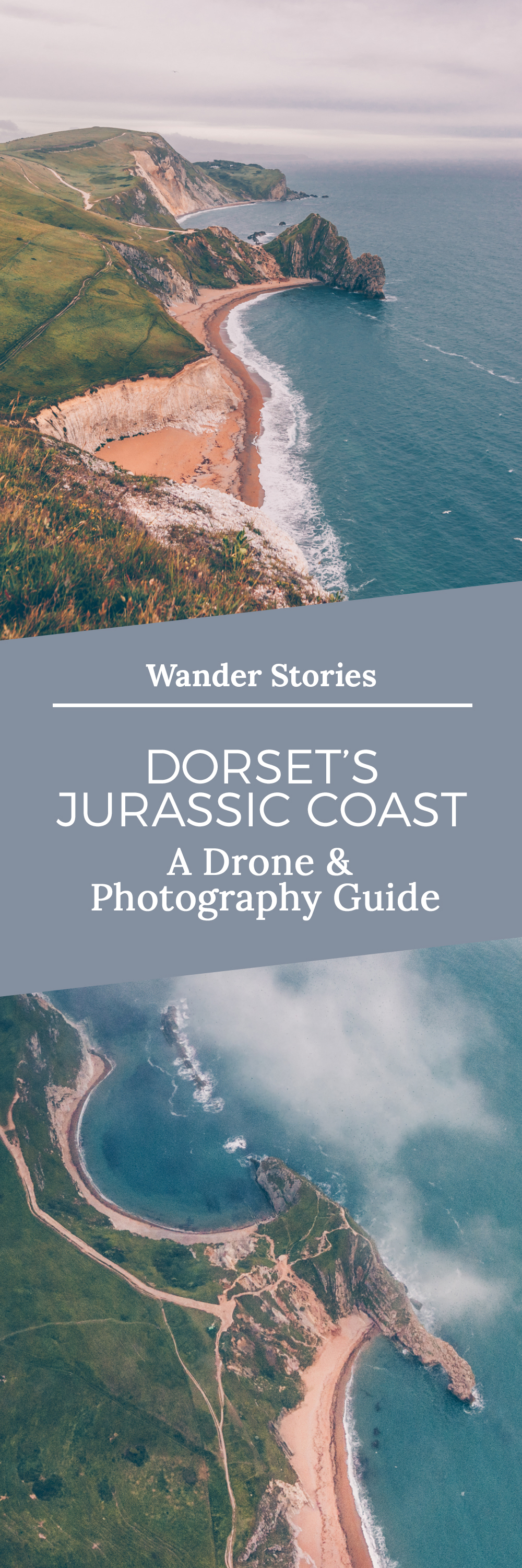 Dorset's Jurassic Coast A Photography Drone Guide by Kati of black.white.vivid.-Wander-Stories