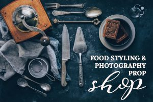 food styling and photography shop