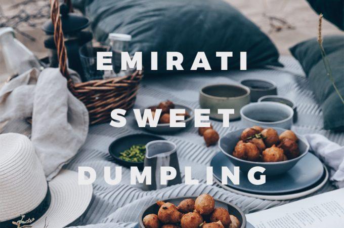 Emirati Sweet Dumplings With Coffee Syrup (Luqaimat) - A Vegan Recipe by Kati of black.white.vivid. / #VirtualCoffeeParty2018 food styling, desert photography, food photography, plant-based recipe, Lower Gulf cuisine, UAE recipe, Vegan Arab recipe, Vegan Arabic recipe, picnic photography