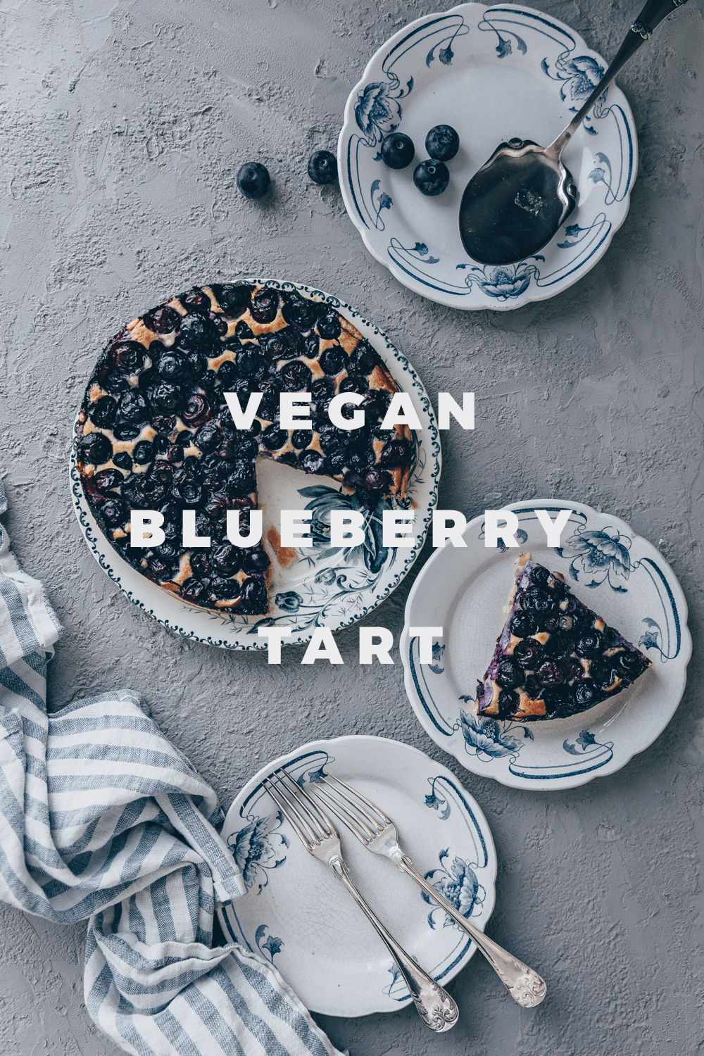 Vegan Blueberry Tart inspired by my summer in Europe - a vegan recipe by black.white.vivid.// food styling, food photography, French tarte, French recipe, French cuisine, Vegan food, Vegan french recipe, vegan cake, vegan tart, Swedish recipe, Scandinavian recipe, Blueberry cake, Swedish blueberry