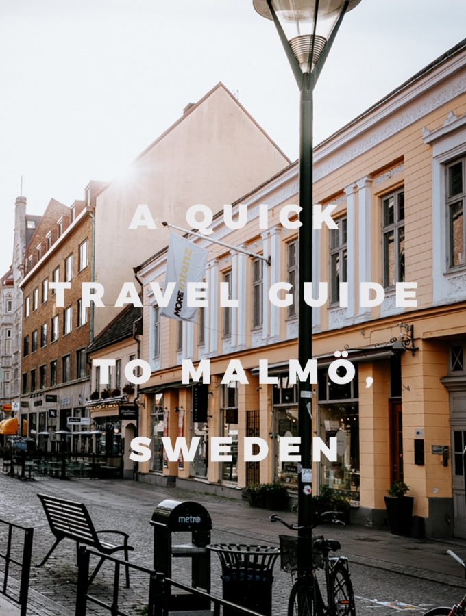 A Quick Travel Guide to Malmö Sweden by Kati of black.white.vivid. // vegan Malmo, vegan Malmö, vegan food guide Malmö, food guide, Sweden guide, Sweden travel guide, Malmö city guide, Lightroom presets